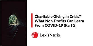 charitable giving in crisis 2