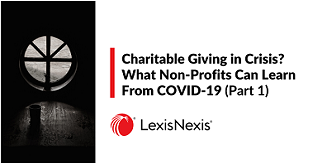 charitable giving in crisis