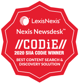CODiE LexisNexis 2020
