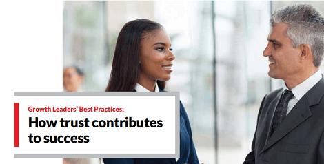 How trust contributes to success