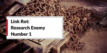 Link Rot: Research Enemy No. 1