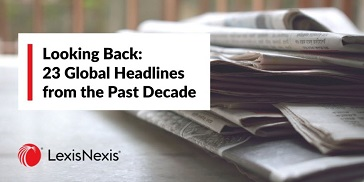 Looking Back: 23 Global Headlines from the Past Decade