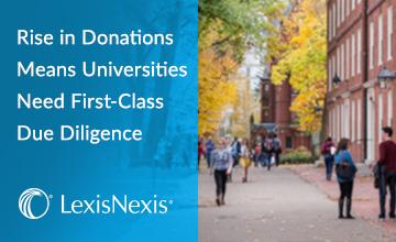 University donations