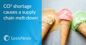 CO2 shortage; Food supply chain feeling flat