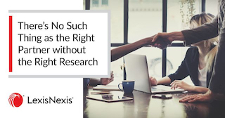 There's No Such Thing as the Right Partner without the Right Research