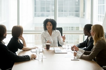 Open communication of competitive intelligence to executive