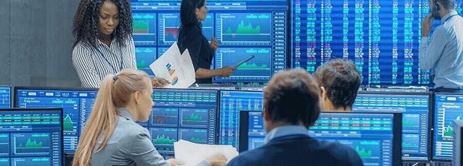 Investment portfolio management - illustration